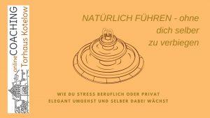 online-Coaching Torhaus Kotelow, NATÜRLICH FÜHREN - ohne dich selber oder andere zu verbiegen Titelblatt